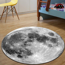 Load image into Gallery viewer, Moon Carpet in Blue & Grey