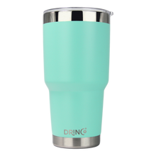 Load image into Gallery viewer, DRINCO® 30oz Insulated Tumbler Spill Proof Lid w/2 Straws (Teal)
