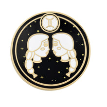 Load image into Gallery viewer, Gemini Astrological Sign Enamel Pins