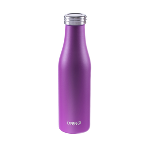 DRINCO® 17oz Stainless Steel Slim Water Bottle - Deep Purple