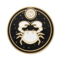 Load image into Gallery viewer, Cancer Astrological Sign Enamel Pin