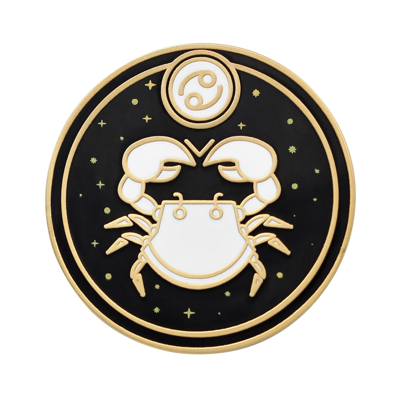 Cancer Astrological Sign Enamel Pin