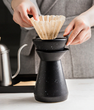 Load image into Gallery viewer, Ceramic Drip Pour Over Coffee Maker