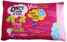 Load image into Gallery viewer, Pink Playtime Storytime Pillowcase