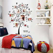Load image into Gallery viewer, Family Tree Art Decals Wall Stickers Vinyl Photo Picture Frames Removable Wall Sticker Home Decor