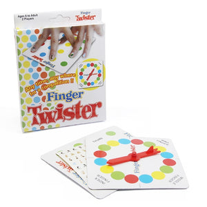 finger twister   board game the toys dance family