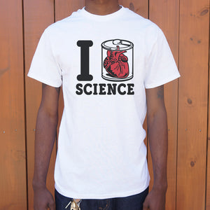 I Heart Specimen Science T-Shirt (Mens)