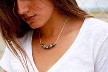 Load image into Gallery viewer, Golden Goddess Pyrite Necklace