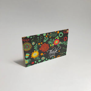 'Bright Garden' Thank You Card