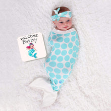 Load image into Gallery viewer, Mermaid Baby Wrap and Book Set