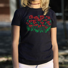 Load image into Gallery viewer, Poppies T-Shirt (Ladies)