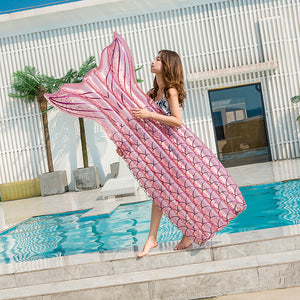 Inflatable Mermaid Pool Float Toy