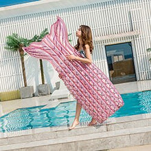 Load image into Gallery viewer, Inflatable Mermaid Pool Float Toy