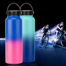 Load image into Gallery viewer, Double Wall Stainless Steel Vacuum Ombre 1000ml Water Bottle