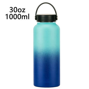 Double Wall Stainless Steel Vacuum Ombre 1000ml Water Bottle