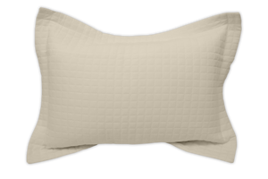 Cream Pillow Sham