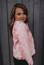 Load image into Gallery viewer, Pink Jean Jacket