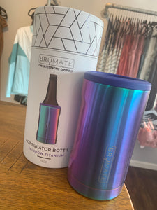 Rainbow 12 oz bottle Brumate