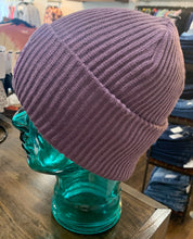 Load image into Gallery viewer, Lavender CC Ribbed Beanie