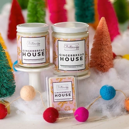 Gingerbread House 14oz Candle