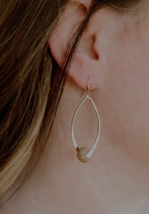 Natural Stone Dangle Earring