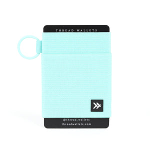 Seafoam Thread Wallet