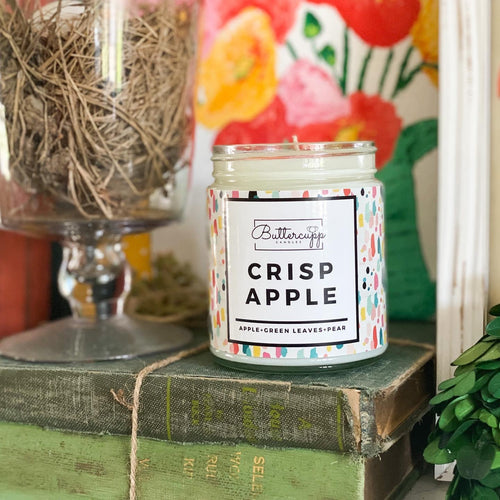 Crisp Apple Candle 8oz