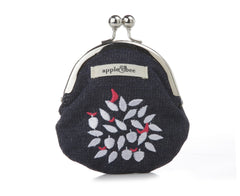 Coin Purse Apple Tree