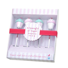 A Spoonful of Sugar Cupcake Teaspoons Set of 4