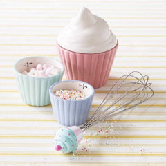 Scrumptious Ceramic Cupcake Measuring Cups Set of 3