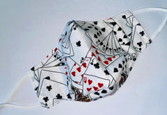 "Face Mask by CarolYin Creations - ""In the Cards"""