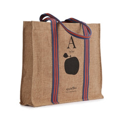 Tote Eco Shopping A is for Apple