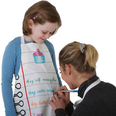 the eatsleepdoodle child's apron