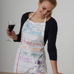 the eatsleepdoodle adult's apron