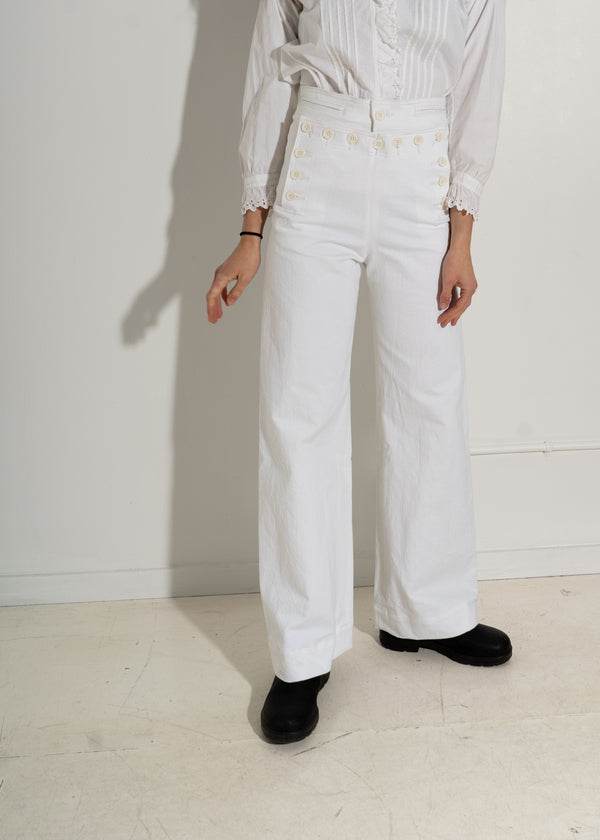 Starr Sailor Pant- White