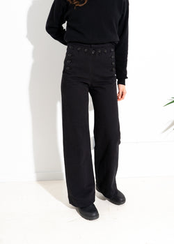 Starr Sailor Pant- Black
