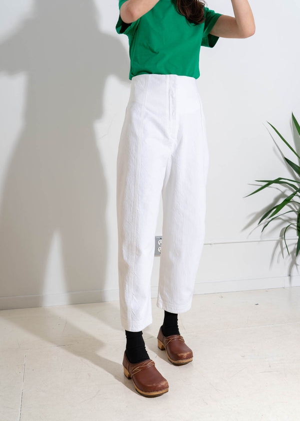 CRESCENT PANT- WHITE