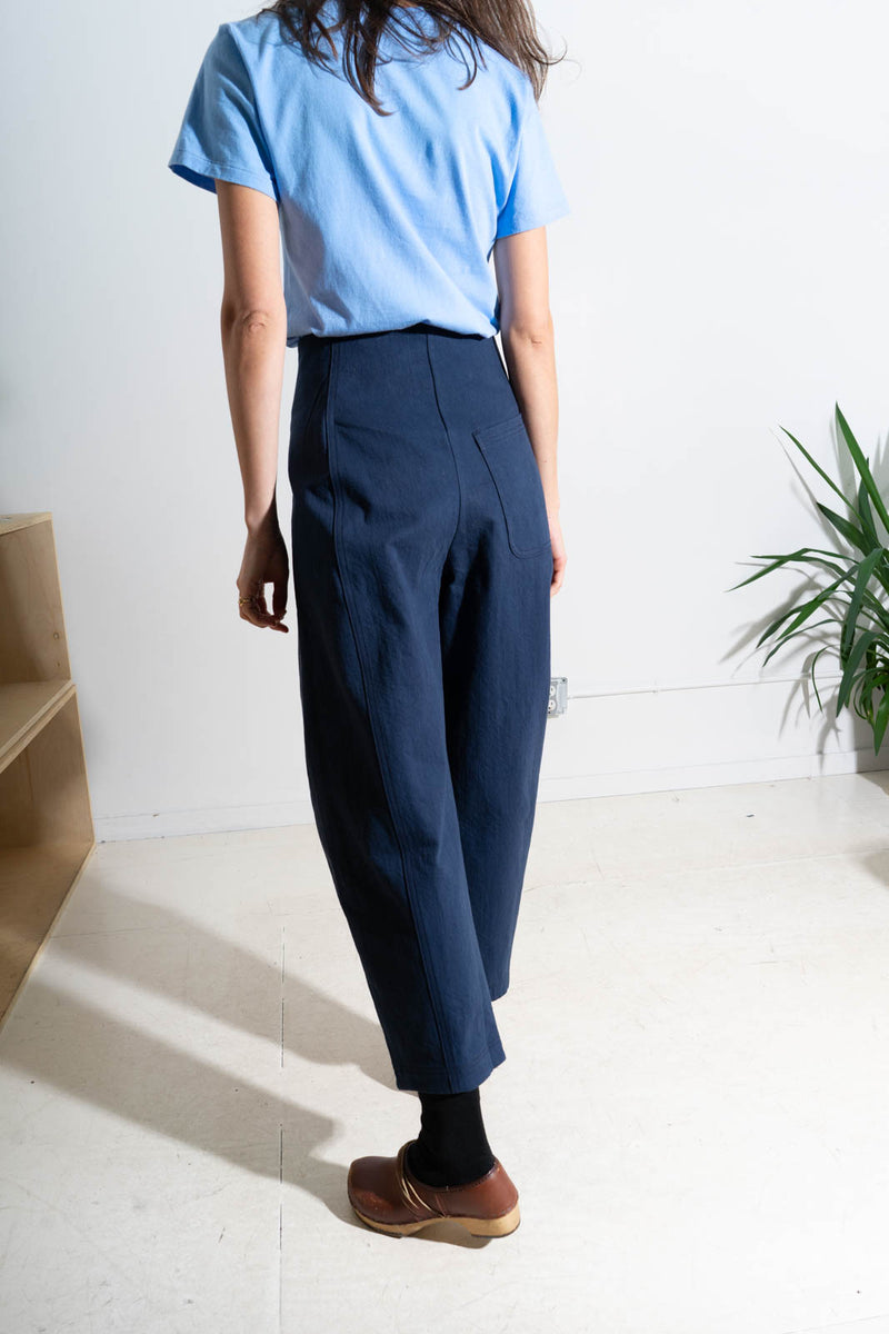CRESCENT PANT- NAVY
