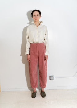 CRESCENT PANT- Pink Corduroy
