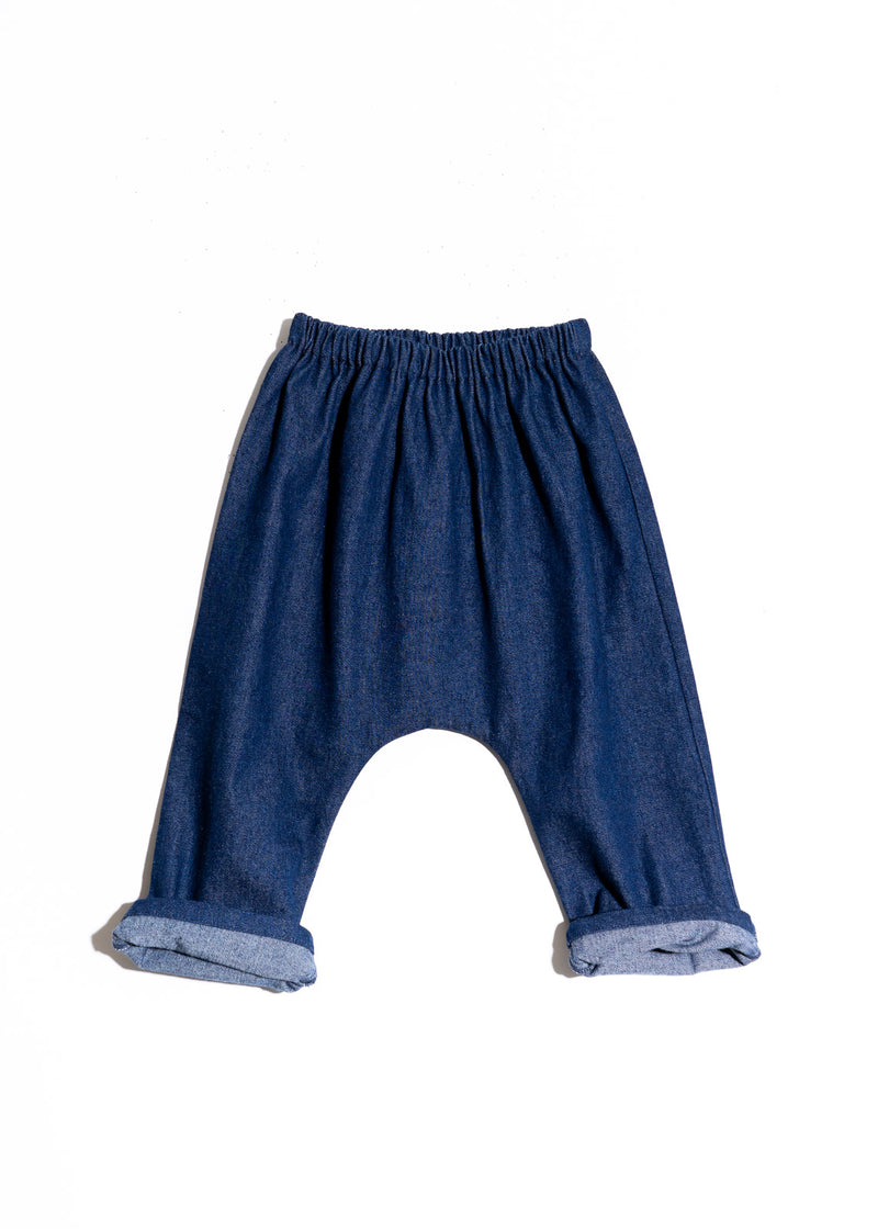 Ryan Pants- Navy Denim