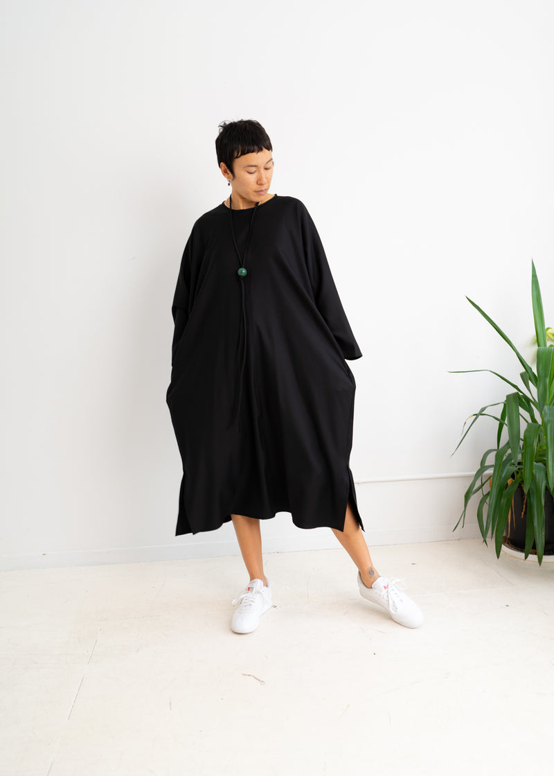 Daumier Dress-Black