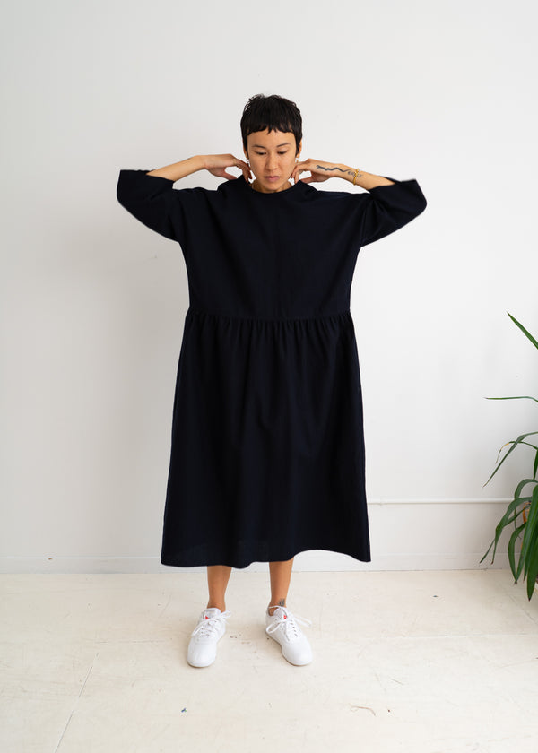 Dix Dress- Dark Navy