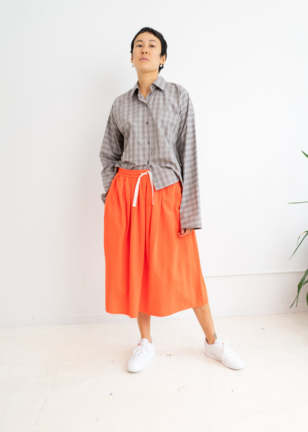 Scully Skirt- Orange Sunset