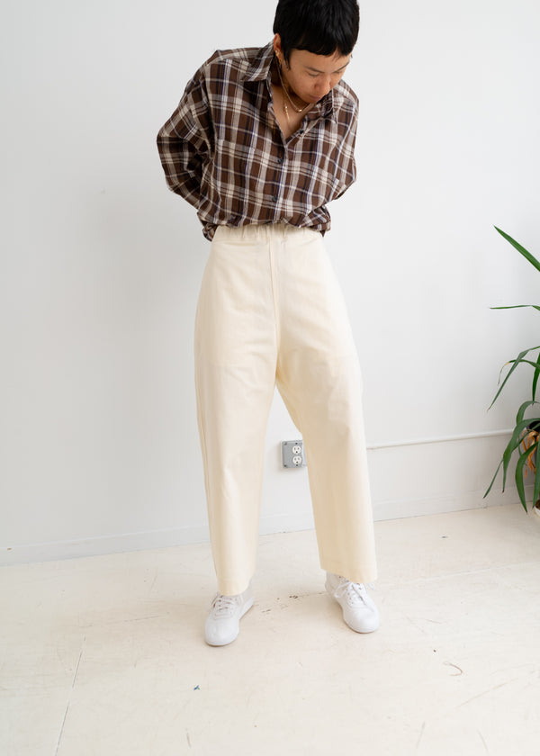 Percy Pants- Ivory