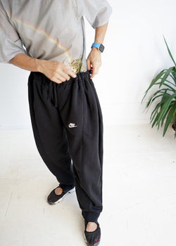 Over Jogging Jeans- Black Black