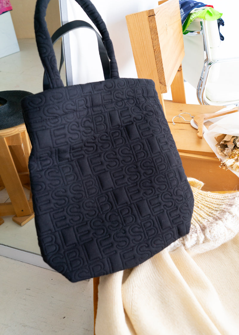 Bless Hardcover Tote Black