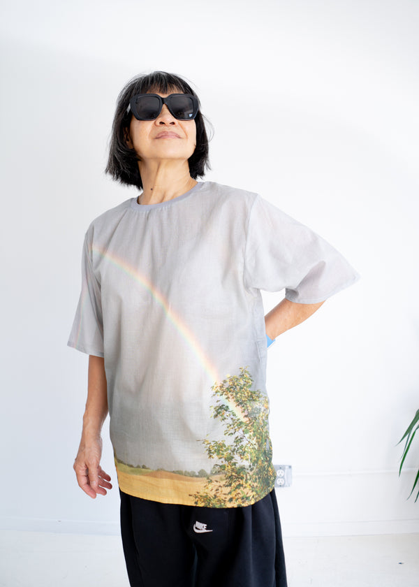 Holiday Rainbow Tee