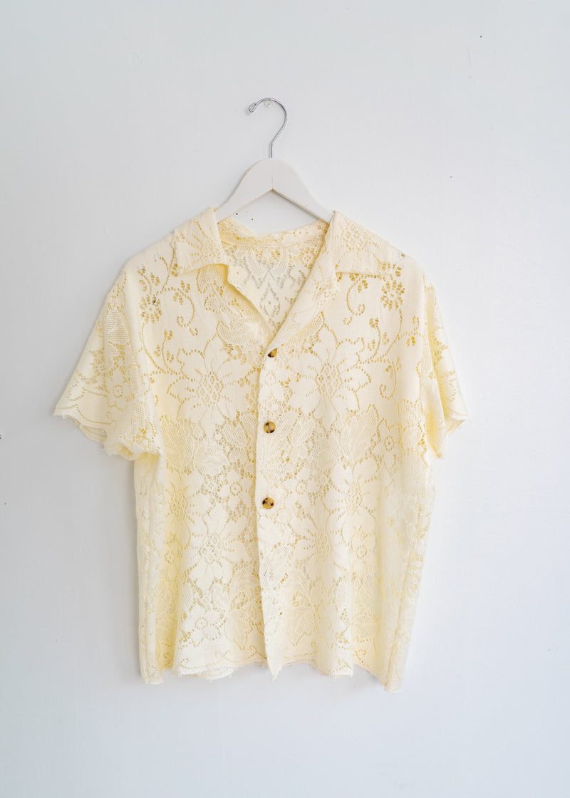 Adult School Boy Top- Vintage Lace Mum