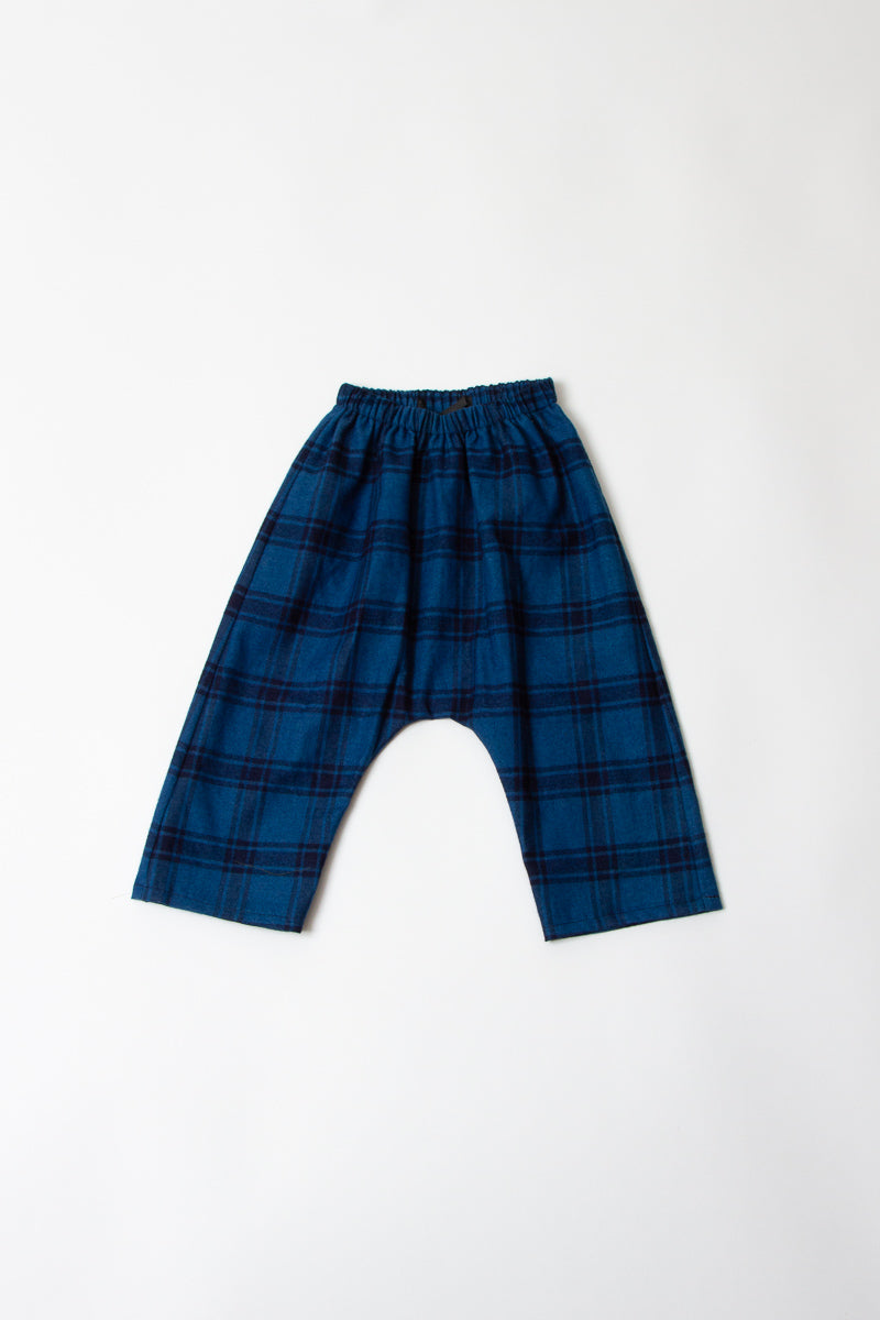 RYAN PANTS-  Blue Blue Plaid