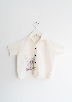School Boy Shirt- Tea Pot